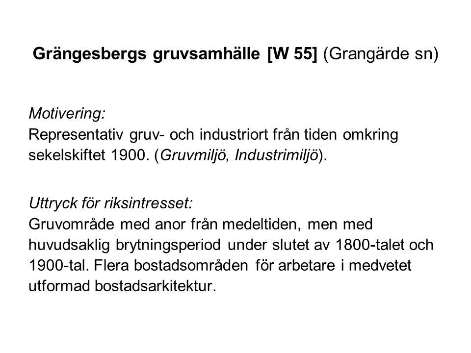 Grängesbergs gruvsamhälle [W 55] (Grangärde sn)